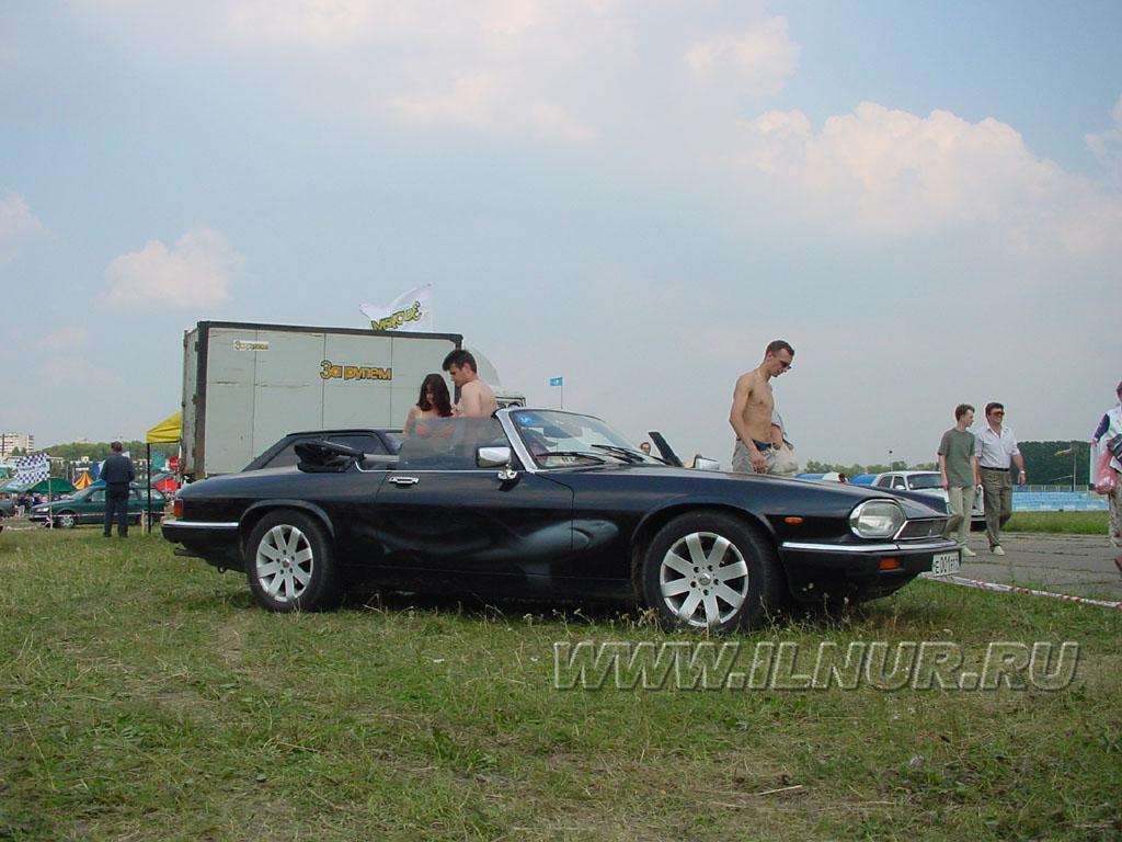 аэрография на Jaguar XJ12