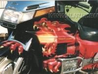 аэрография Honda GoldWing