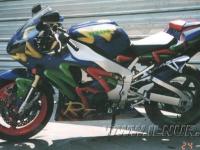 аэрография на Yamaha R1