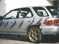аэрография на Subaru