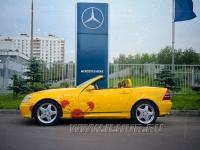 аэрография на Mercedes-Benz SLK