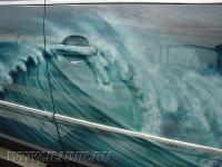 аэрография на VW Passat