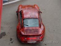аэрография на Porsche turbo
