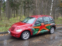 аэрография на Chrysler PT Cruiser