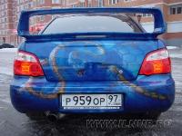 аэрография на Subaru Impreza STI