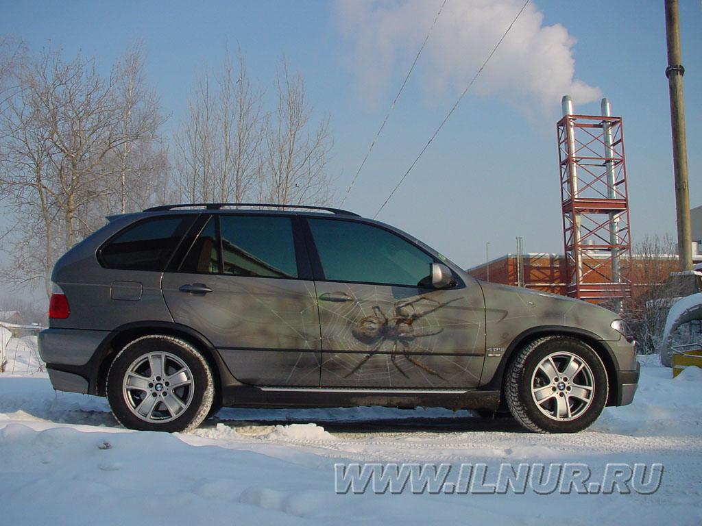 аэрография на BMW