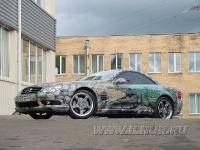 аэрография на Mercedes Benz SL500