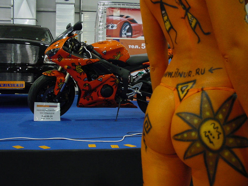 аэрография на Yamaha R6