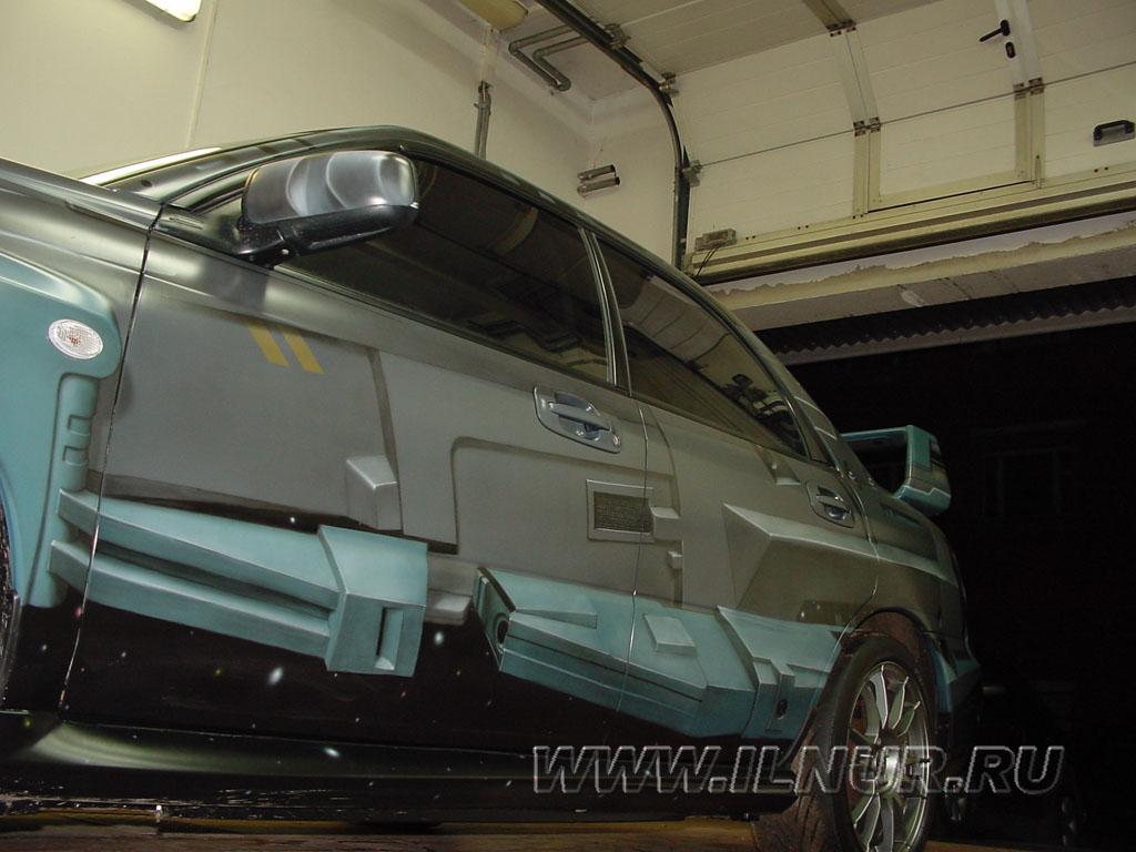 аэрография на Subaru Impreza WRX STI