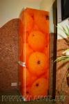 аэрография на холодильнике