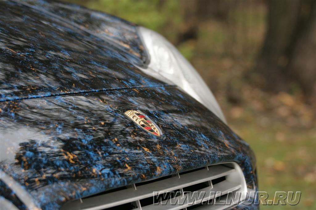 аэрография на Porsche Cayenne 2007 г.