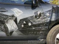 аэрография на Peugeot 4007