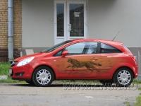 аэрография на Opel Corsa