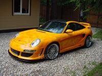 аэрография на Porsche Gemballa