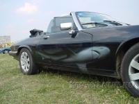 «Серым по черному» аэрография на Jaguar XJ12  1997 г.