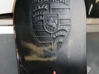 аэрография на сноуборде Porsche