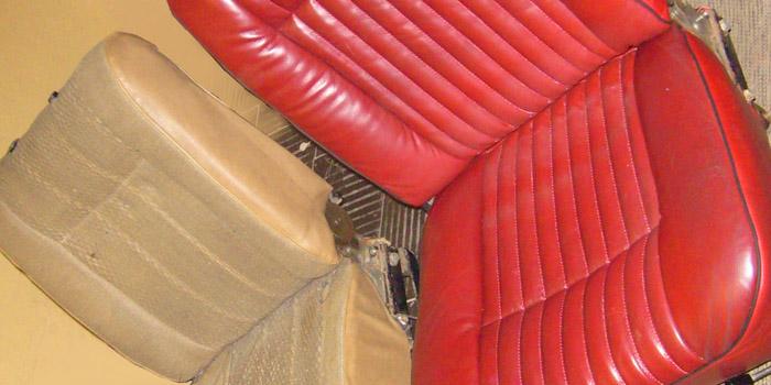 ремонт автомобильного сиденья