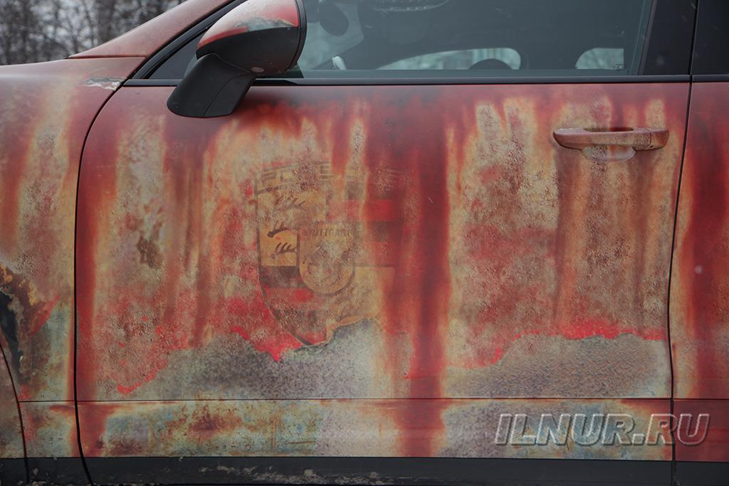 Porsche Cayenne патина винил