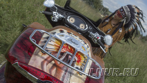 аэрография на мотоцикле Indian Roadmaster