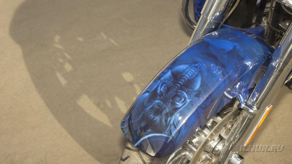 аэрография-Harley Davidson