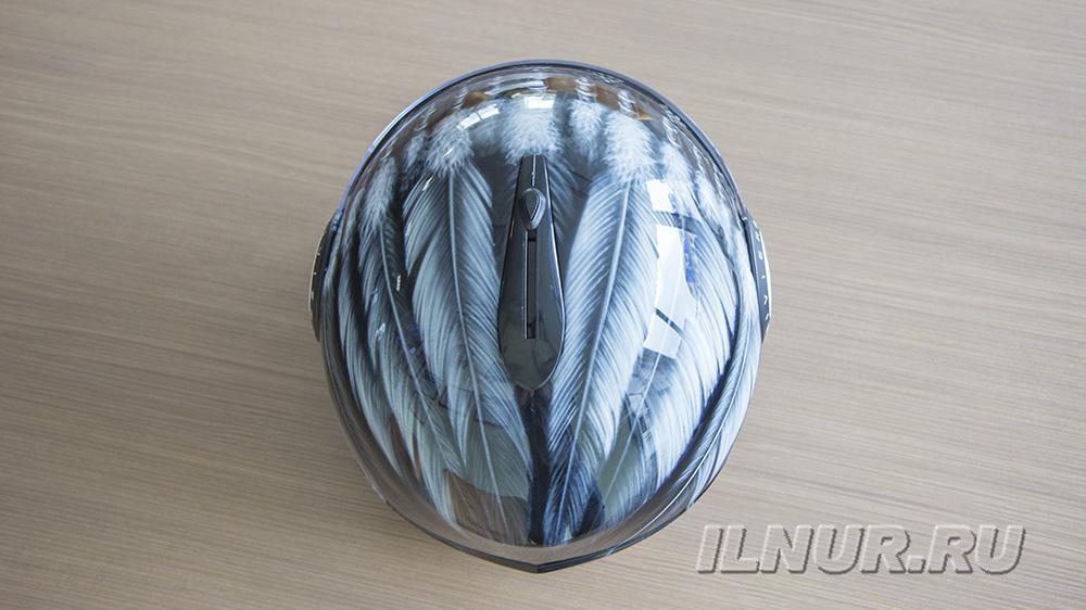 аэрография на шлеме Роуч Леонида Закашанского