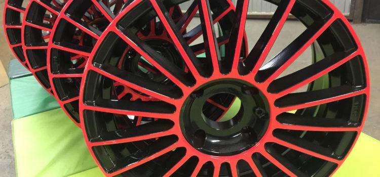 Порошковая окраска и ремонт колесных дисков