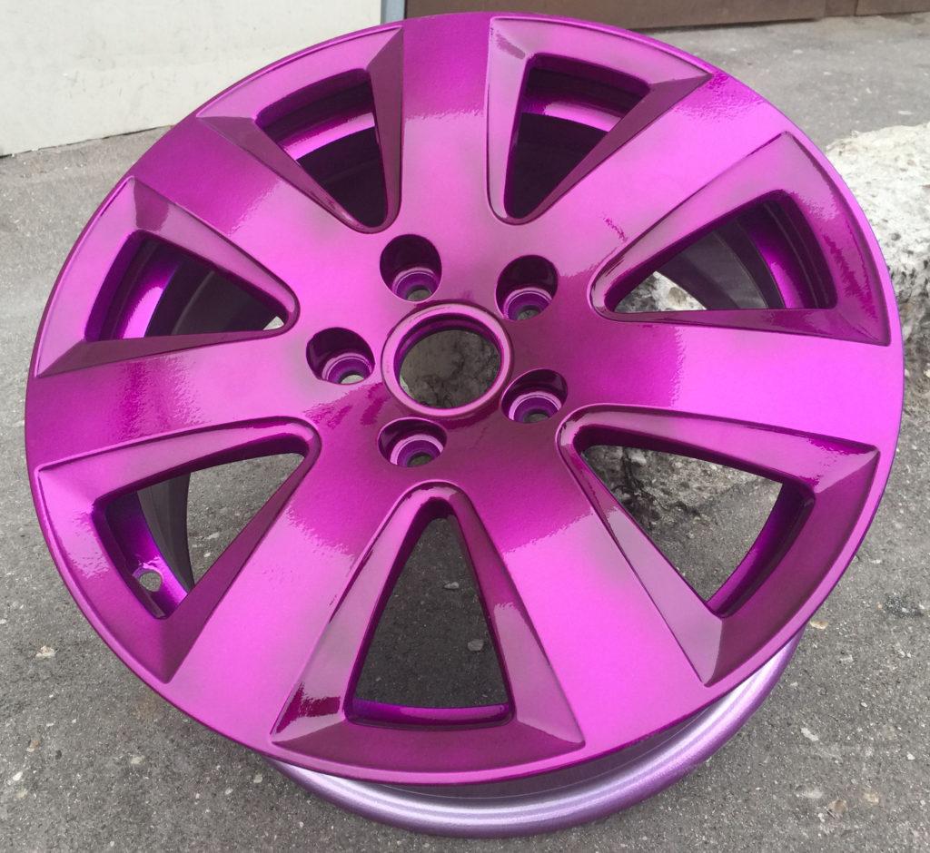 Порошковая окраска Кэнди фиолетовый