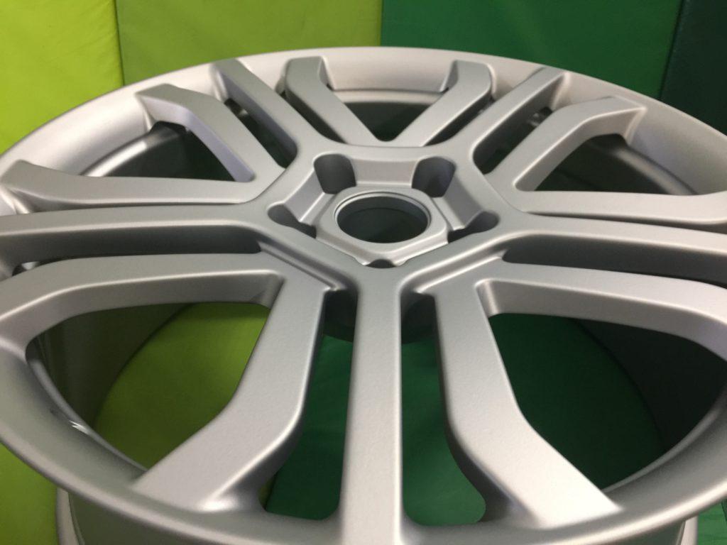Порошковая окраска дисков Хром матовый
