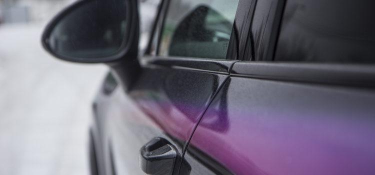 Porsche Cayenne аэрография «Закат» 2018 г