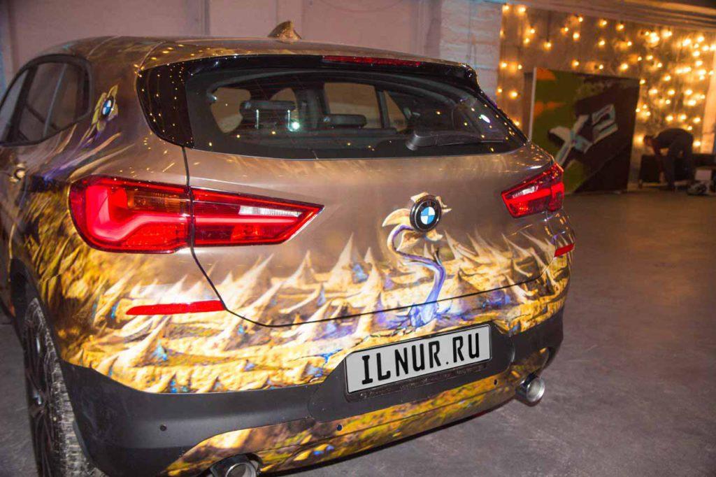 винилография BMW X2