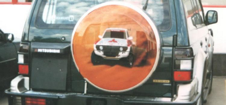 «Pajero рулит!» коллекция запасок для ROLF 1997 г.